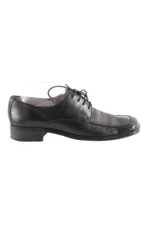 Görtz Shoes Veterschoenen zwart casual uitstraling