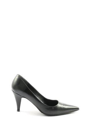 Görtz Shoes Spitz-Pumps schwarz Casual-Look