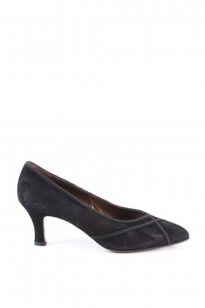 Görtz Shoes Spitz-Pumps schwarz Elegant