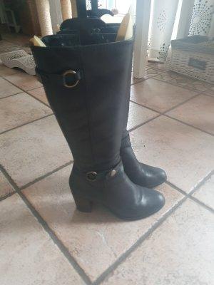 Görtz Shoes Stivale con tacco nero