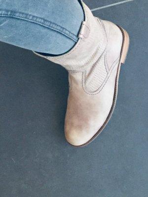 Goertz Stiefel Stiefeletten grau Gr.39
