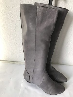 Görtz Shoes Botte d'équitation gris cuir