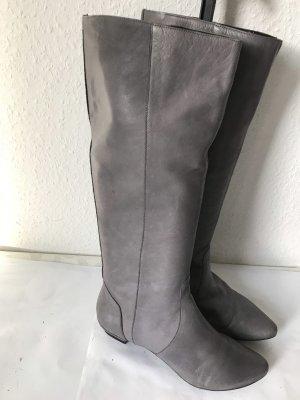 Görtz Shoes Riding Boots grey leather
