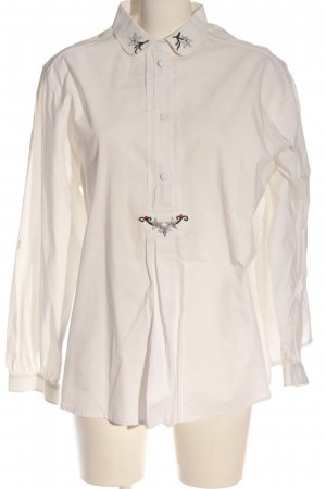 gössi Traditional Blouse white casual look