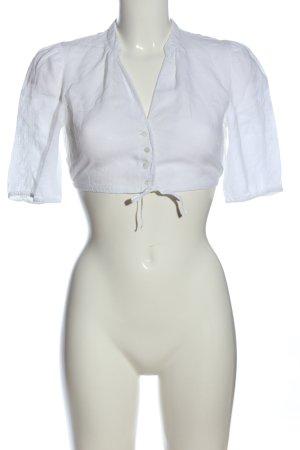 gössi Tradycyjna bluzka biały W stylu casual