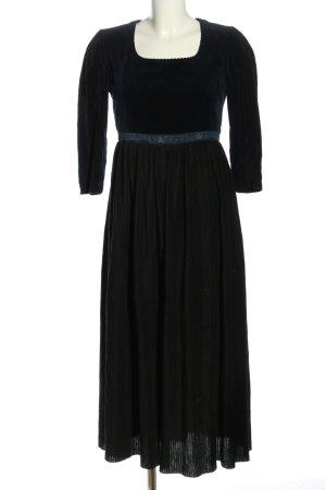 gössl Dirndl blau-schwarz klassischer Stil