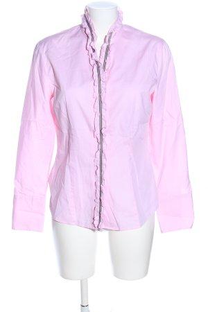 gössl Rüschen-Bluse pink Business-Look
