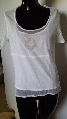 Gössl Shirt mit Gazeoberteil Gr. 40