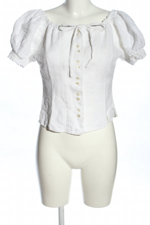 gössl Blusa folclórica blanco look casual