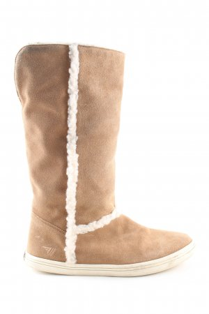 Gola Jackboots nude-natural white casual look