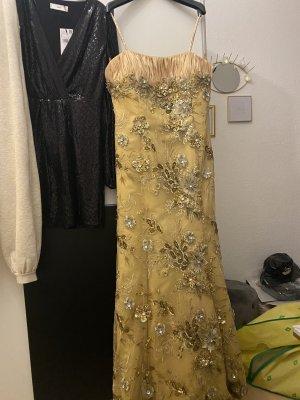 Gold Abendkleid