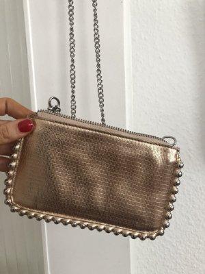 Gold, Bronzefarbene clutch