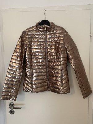 Gold Bronzene Jacke von Glam Amour neu