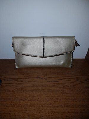 Gold Handtasche
