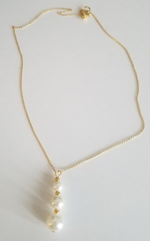 Hand made Gold Chain white-gold-colored