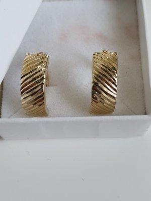 Złote kolczyki złoto