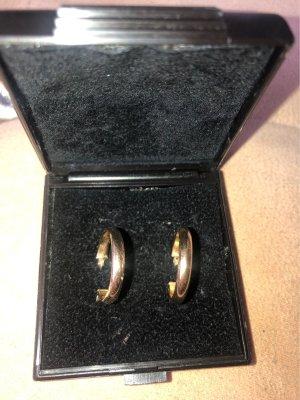 Gold Ohrringe creolen