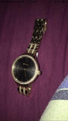 Fossil Analoog horloge zwart-goud