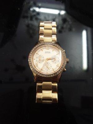 Gold Uhr von Guess Damenuhr