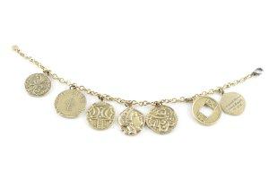 Bracelet en or doré style décontracté