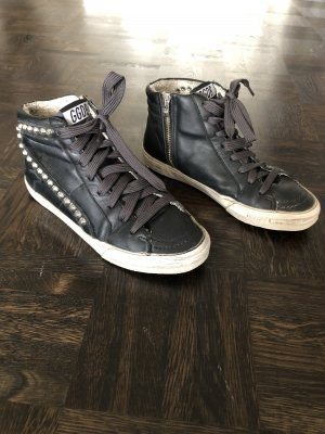 Golden Goose High Top Sneaker black-anthracite