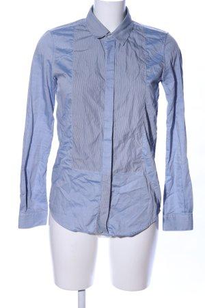 Golden Goose Hemd-Bluse blau Streifenmuster Business-Look