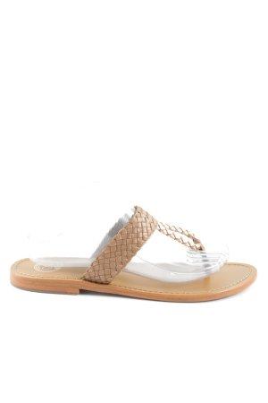 Golden Sun Flip Flop Sandalen nude Casual-Look