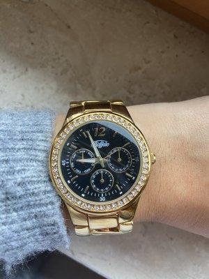 Goldene Armbanduhr Buffalo