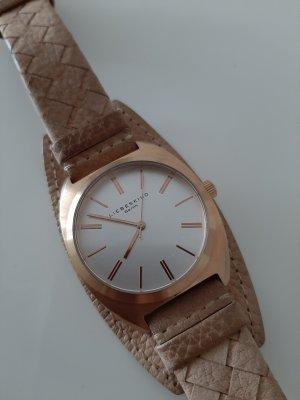 Goldene Armbanduhr 》Liebeskind《 LT-0054-LQ WIE NEU
