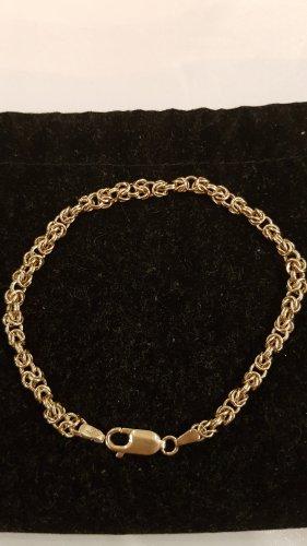 Goldene Armkette 585