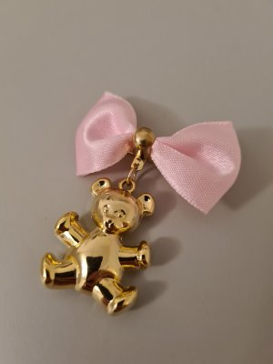 Vintage Broche color oro-rosa claro