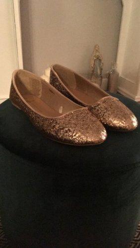 Bailarinas color oro