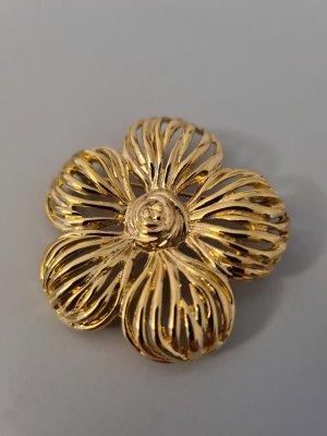 Vintage Broszka złoto
