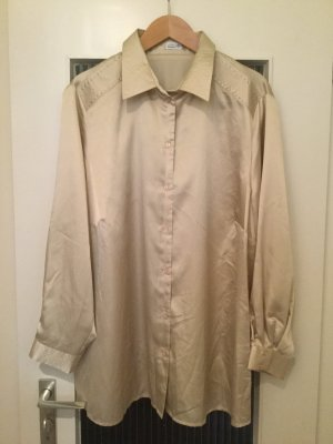 Atelier Creation Shirt Blouse gold-colored-silver-colored