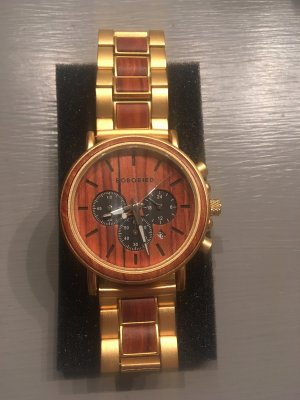 Goldene Bobo Bird Herrenuhr