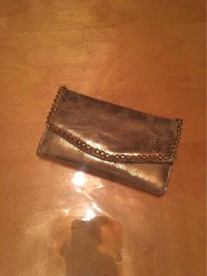 Goldene Clutch Brieftasche