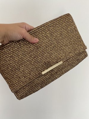 Goldene clutch von H&M