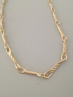 Vintage Gold Chain gold-colored