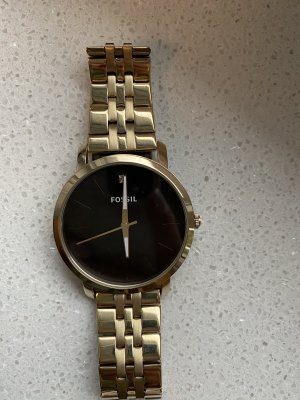 Fossil Analog Watch gold-colored-black