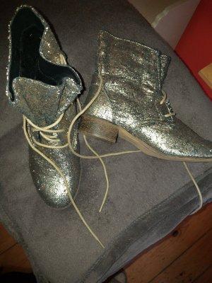 goldene glitzer Boots Gr. 40
