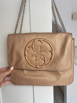 Goldene Guess Tasche