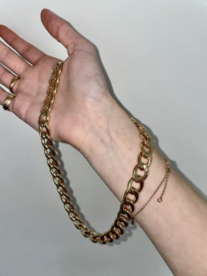 Monki Link Chain gold-colored