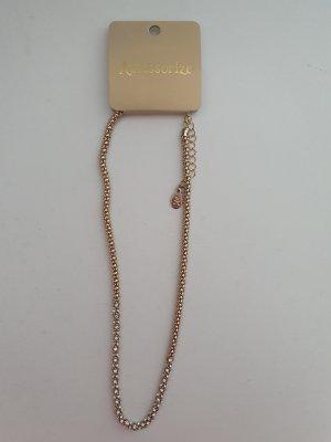 Goldene Halskette von Accessorize