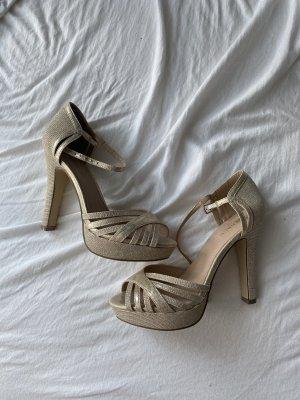 Goldene heels NEU