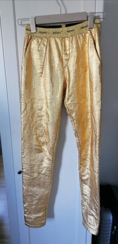10 Days Pantalon en jersey doré