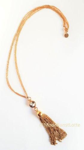 goldene Kette// Goldkette mit Swarovski- Strass von KAREN MILLEN
