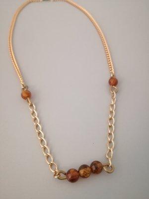 Vintage Collar color oro-naranja oscuro