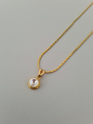 Vintage Necklace gold-colored