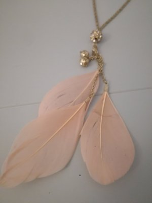 Opia Necklace gold-colored-light pink
