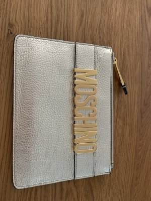 Goldene MOSCHINO Couture Clutch